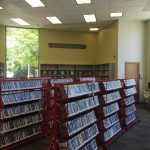 Right in front, you'll find our new books and DVDs!