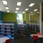 Our Children's Room has new shelves and new furniture!