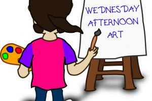 Sign Up for Wednesday Afternoon Art Classes