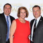 Eddie Narucki, Stephanie McGowan and Freeholder Tanelli