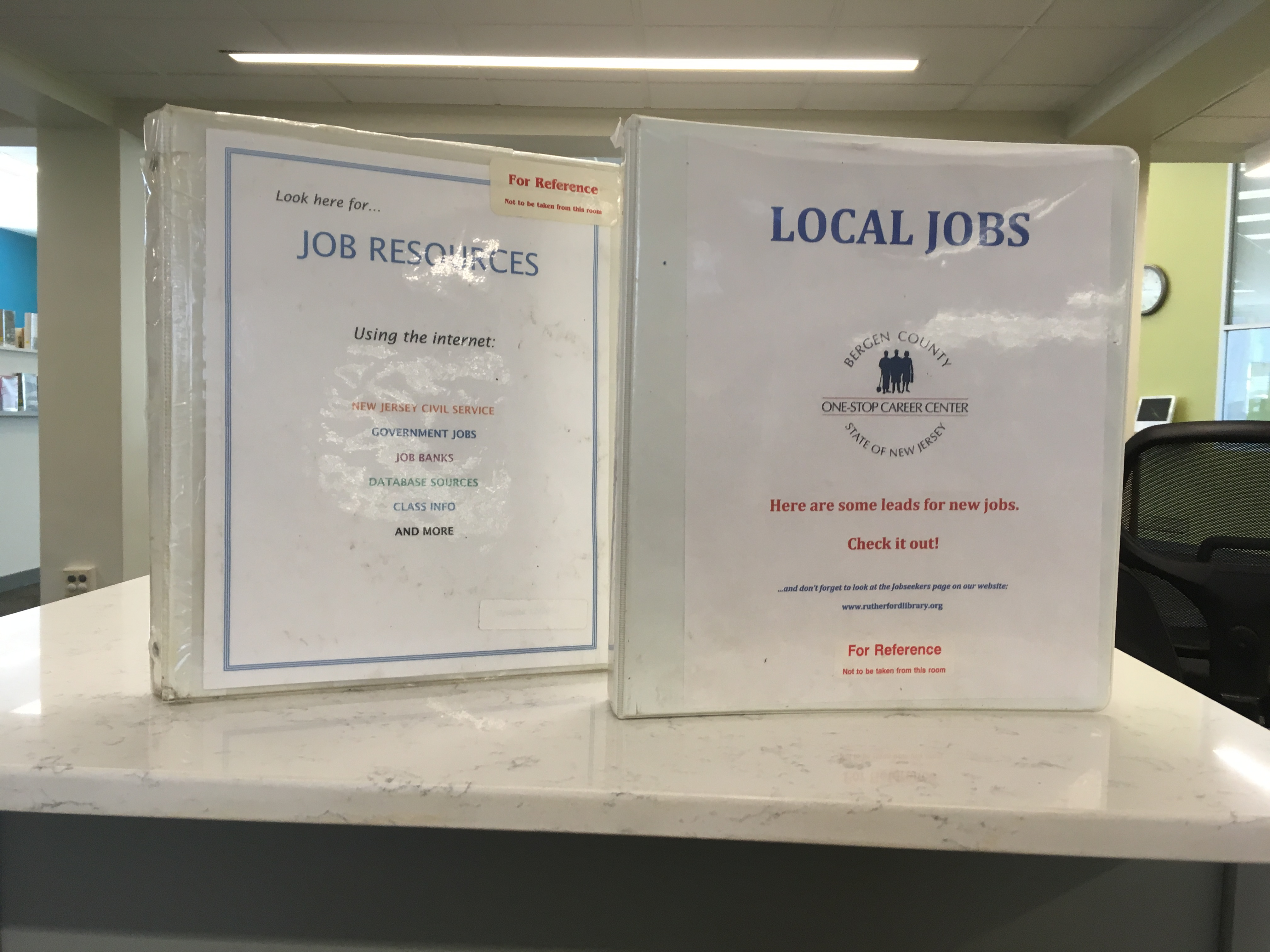 Looking for Seasonal Work? Check Out the Library Jobs Binder