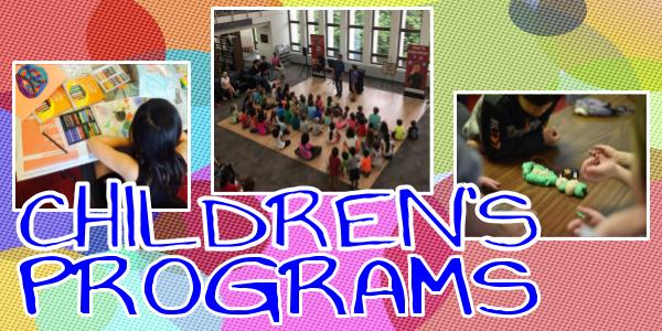 New Children's Programs Announced this Month
