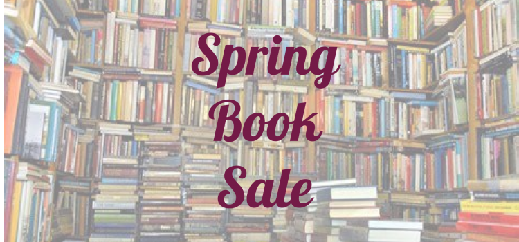 Spring Book Sale Starts One Week From Today